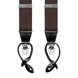 Leyva suspenders, Brown