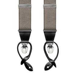 Leyva suspenders, Taupe