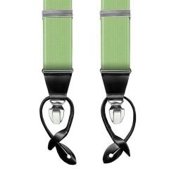 Leyva green men's braces