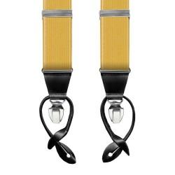 Leyva Yellow men's braces
