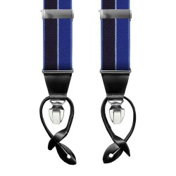 Leyva suspenders, Blue-Navy