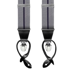 Leyva suspenders, Grey-Black