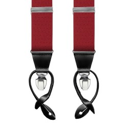 Leyva suspenders, Red-Black
