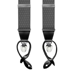 Leyva suspenders,  Grey-Withe