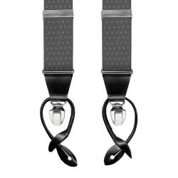 Leyva suspenders,  Grey-Withe