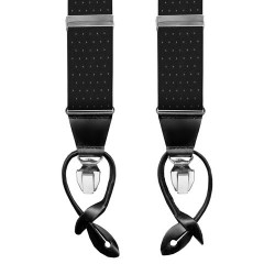 Leyva suspenders, Black-Withe