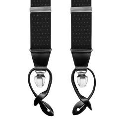 Leyva suspenders,  Black-Withe
