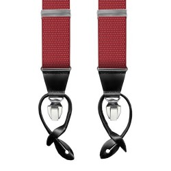 Leyva suspenders,  Red-Withe