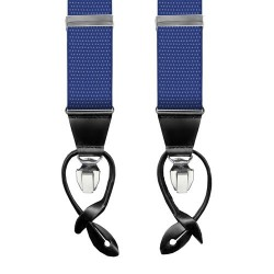 Leyva suspenders,  Blue-Withe