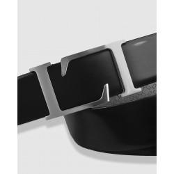 """Cinturón de piel negro, 35mm Novo Antic"""""""