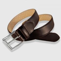 """Cinturón de piel marrón, 35mm Novo Antic"""""""