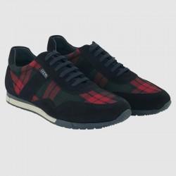 Sneaker Leyva cuadro escocés