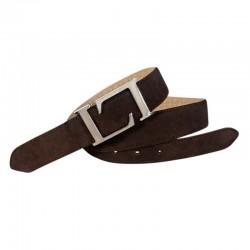 Leyva men's leather belt in...