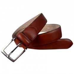 Leyva men's belt in cowhide...