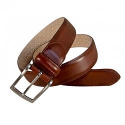 Leyva man belt in bull leather