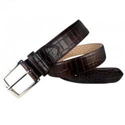 Cinturón grabado de hombre...