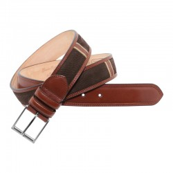 Leyva men's belt in...