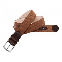 Cinturón de piel crispada...