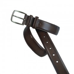 Leyva men's leather belt