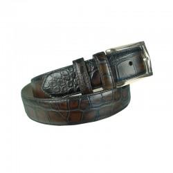 Engraved belt of Leyva man...