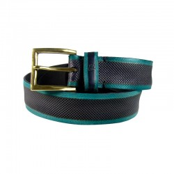 Leyva men's belt in green...