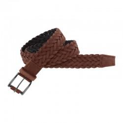 Cinturón de piel trenzado...