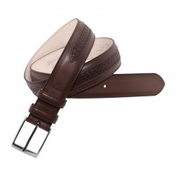 Leyva men's leather belt...