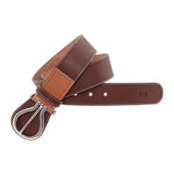 LEYVA women's leather belt