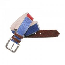 Cinturón de piel de...
