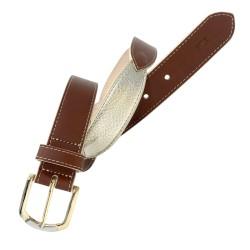 Cinturón de señora de piel...