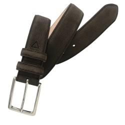 Cinturón de piel de nobuck...