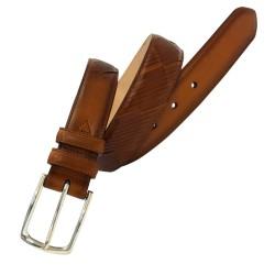 Cinturón de piel de vaqueta...