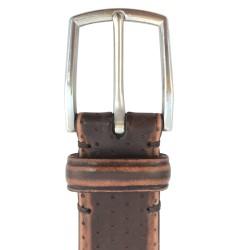 Cinturón de piel vacuno de hombre LEYVA