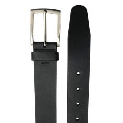 Cinturón de piel de vaqueta de hombre LEYVA