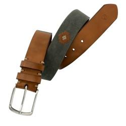 Cinturón de en algodón con bordado de hombre LEYVA