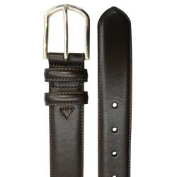 Cinturón de piel de Vaquetilla en 4 tonos de hombre LEYVA