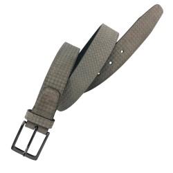 Cinturón de piel de Serraje LEYVA