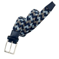 Cinturón trenzado a mano LEYVA