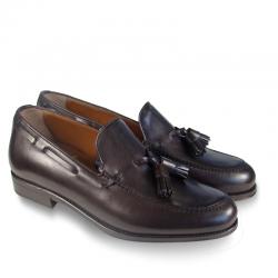 ALBERT leather moccasins...