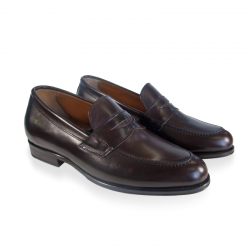 ADAM leather moccasins for men