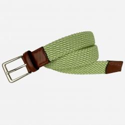 Cinturón trenzado elástico, de hombre LEYVA