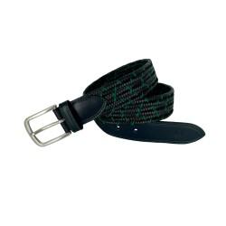 LEYVA men's braided leather...
